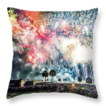4th Finale Throw Pillow