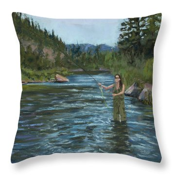 Casting Call Throw Pillow