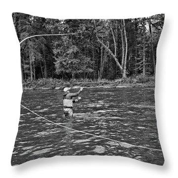 Casting Throw Pillow