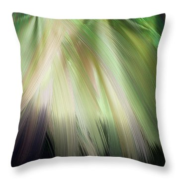 Casting Light Throw Pillow