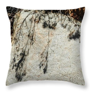 Casting Shade Throw Pillow