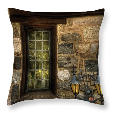 Castle - Coat Of Arms Throw Pillow by Mike Savad