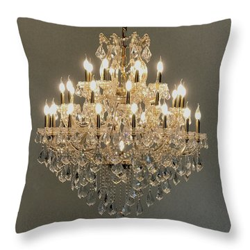 Castle Dining Room Throw Pillow