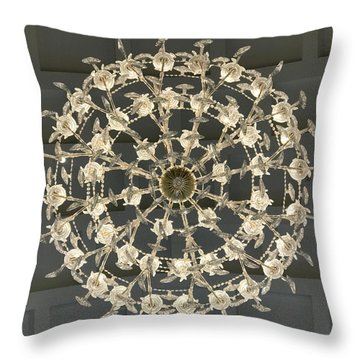 Castle Front Hall 02 Throw Pillow