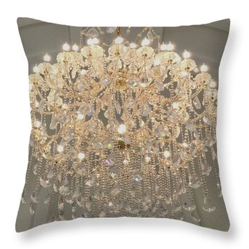 Castle Front Hall 01 Throw Pillow
