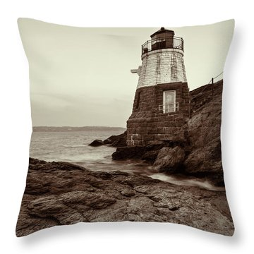 Throw Pillow featuring the photograph Castle Hill by Andrew Pacheco