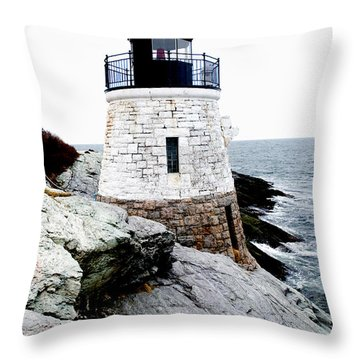 Castle Hill Light Throw Pillow