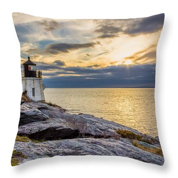 Castle Hill Light Hdr Throw Pillow