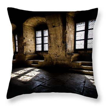 Throw Pillow featuring the photograph Castle Light by Jason Smith