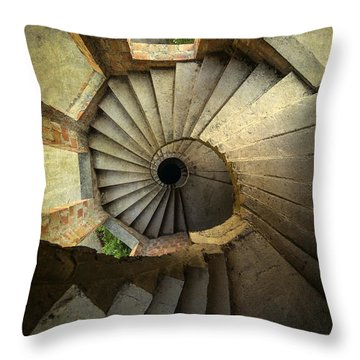 Castle Of Unfinished Dreams Throw Pillow