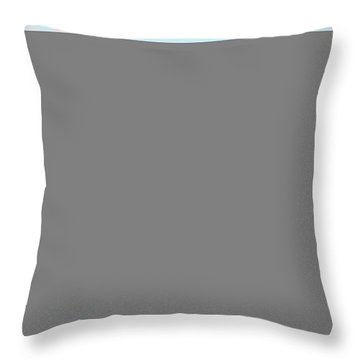Castle On The Rhine Throw Pillow