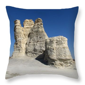 Castle Rock Throw Pillow