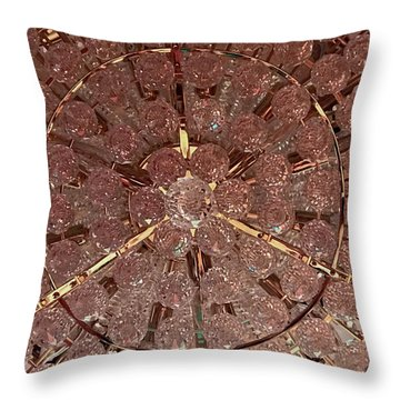 Castle Rose 03 Throw Pillow