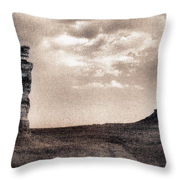 Castles Of Wonder Revisited Throw Pillow