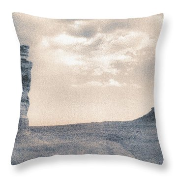 Castles Of Wonder Throw Pillow by Thomas Bomstad