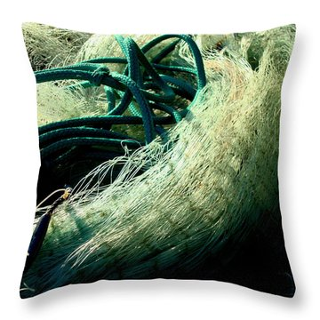 Castnet Ropes Throw Pillow