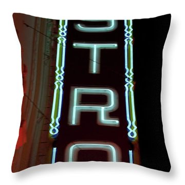 Throw Pillow featuring the photograph Castro by Matthew Bamberg