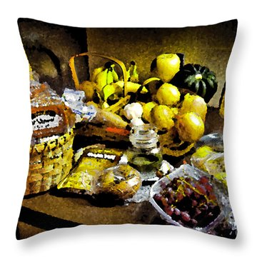 Throw Pillow featuring the photograph Casual Affluence by Tom Cameron