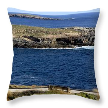 Throw Pillow featuring the photograph Casuarina Islets by Stephen Mitchell