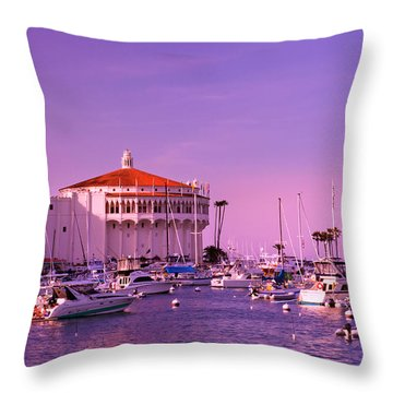 Catalina Casino Throw Pillow