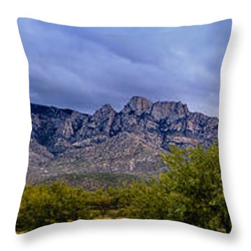 Catalina Mountains P1 Throw Pillow
