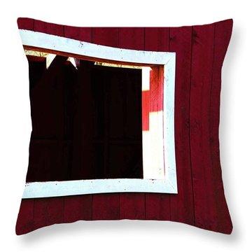 Catawissa Covered Bridge Throw Pillow