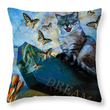 Throw Pillow featuring the photograph Catch A Dream by Richard Ricci