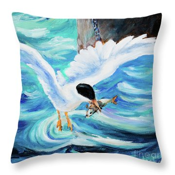 Catch Throw Pillow