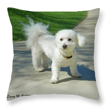 Catch Me If You Can Mommy Throw Pillow by Emmy Marie Vickers