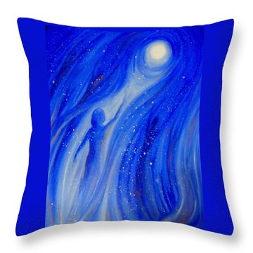 Catch The Moon Throw Pillow
