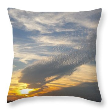 Catch The Morning Sun Throw Pillow