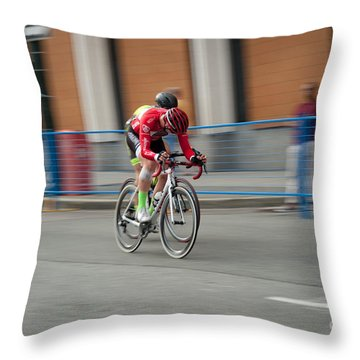Catching My Breath. Throw Pillow