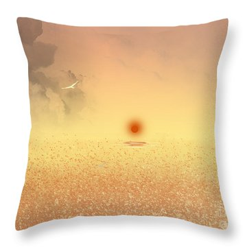 Catching The Light Throw Pillow