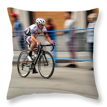 Catching Up Throw Pillow