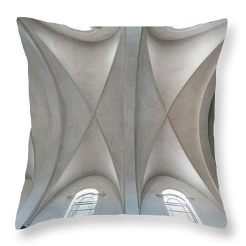 Catedral De La Purisima Concepcion Ceiling Throw Pillow