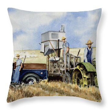 Catesby Cuttin' 1938 Throw Pillow