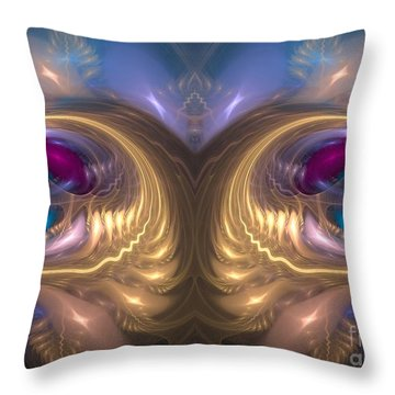 Catharsis - Abstract Art Throw Pillow