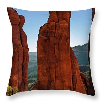 Cathedral 07-056 Throw Pillow
