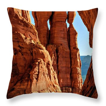 Cathedral 07-061 Throw Pillow