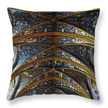 Cathedral Albi Throw Pillow