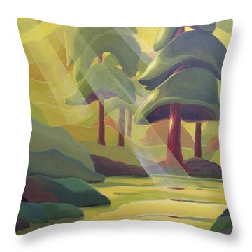 Cathedral Light Throw Pillow