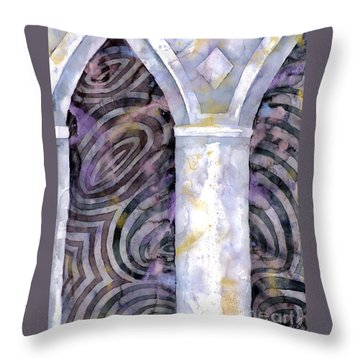Cathedral Throw Pillow by Luke Galutia