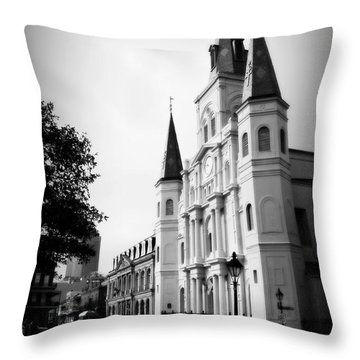 Cathedral Morning 2 Throw Pillow