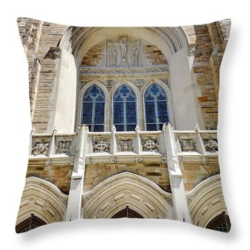 Cathedral Of St John Front Throw Pillow