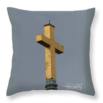 Cathedral In Charleston Sc Throw Pillow