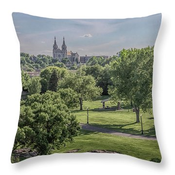 Cathedral Of St Joseph #2 Throw Pillow