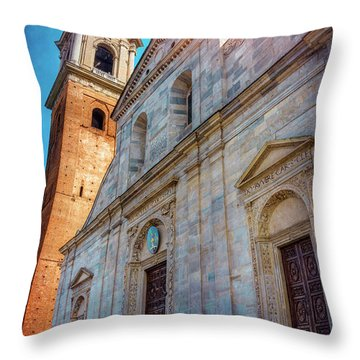 Cathedral Of Turin Italy  Throw Pillow