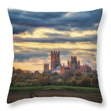Cathedral Sunset Throw Pillow