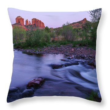 Cathedral Twilight Throw Pillow