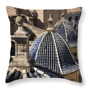 Cathedral Valencia Side Domes Throw Pillow
